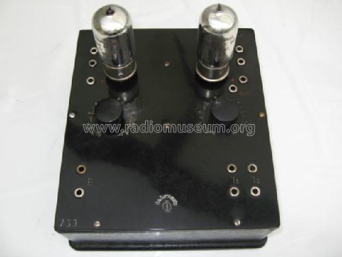 Zweiröhren Widerstands Verstärker 4047; Radio Amato, Otto (ID U003d 370493