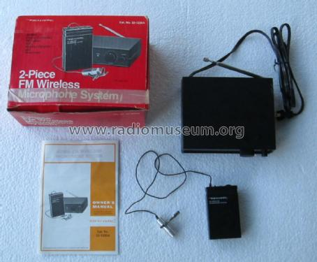 49mz_fm_wireless_microphone_system_1851196 realistic 49mhz fm wireless microphone system trx radio shac RadioShack Wireless Microphone at edmiracle.co