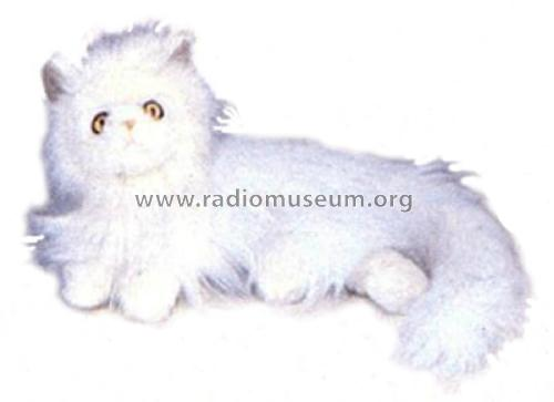 AM/FM Animal Radio 'Fluffy Cat' 12-996; Radio Shack Tandy, (ID = 1769298) Radio