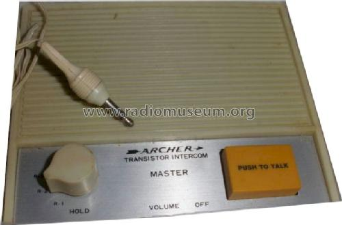 Archer 4-Station Transistor Intercom 43-216A; Radio Shack Tandy, (ID = 824348) Ampl/Mixer