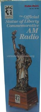 Liberty - The Official Statue of Liberty Commemorative AM Radio 12-101; Radio Shack Tandy, (ID = 1710570) Radio
