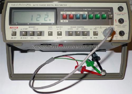Radio Shack Multimeter : Radio shack micronta multimeter calibration help