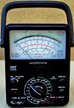 Micronta multimeter