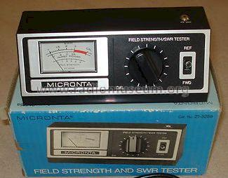 Micronta Field Strength SWR Tester Cat. No. 21-525B; Radio Shack Tandy, (ID = 1187530) Equipment
