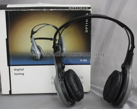 Optimus AM/FM Stereo Headset Radio 12-928; Radio Shack Tandy, (ID = 1445685) Radio