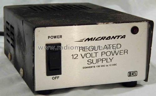 Micronta Power Supply 22-124; Radio Shack Tandy, (ID = 2082626) A-courant