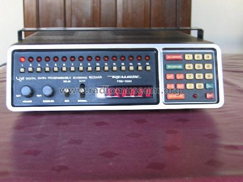 Realistic 16-Channel Scanner Receiver Amateur-R Radio Shack