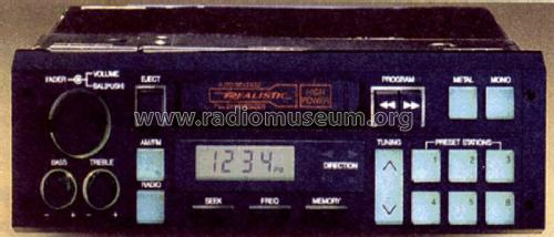 Realistic Car Radio 12-1931; Radio Shack Tandy, (ID = 1772110)