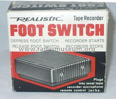 Realistic Foot Switch 44-610; Radio Shack Tandy, (ID = 1035283) Misc