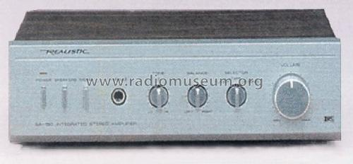 Realistic Integrated Stereo Amplifier SA-150 31-1955; Radio Shack Tandy, (ID = 1356742) Ampl/Mixer