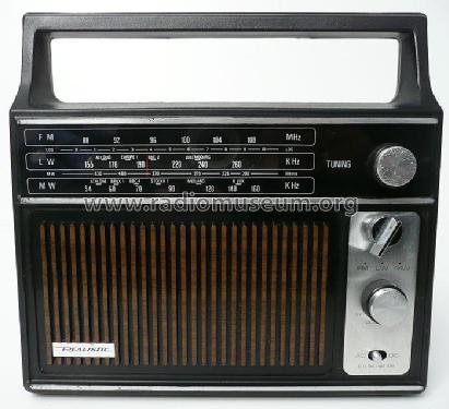 Realistic Portable Radio 12-9111; Radio Shack Tandy, (ID = 1890729) Radio