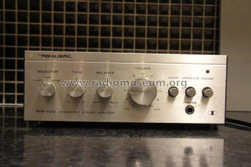 Realistic SA-102 Ampl/Mixer Radio Shack Tandy, Realistic, Mi