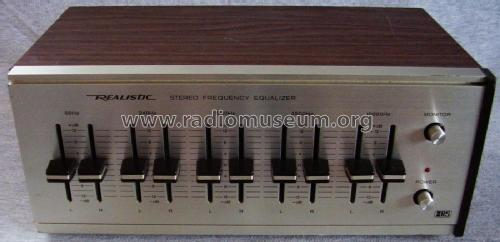realistic stereo frequency equalizer ampl mixer radio shack rh radiomuseum org