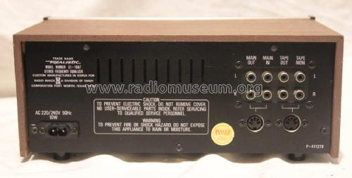 realistic stereo frequency equalizer ampl mixer radio shackRealistic Equalizer Wiring Diagram #11