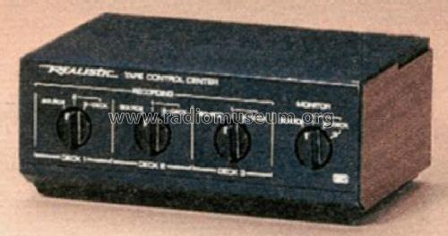 Realistic Tape Control Center 42-2115; Radio Shack Tandy, (ID = 1346393) Misc