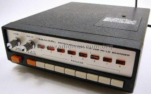 Realistic VHF Hi-Lo Scanner Patrolman Amateur-R Radio Shack