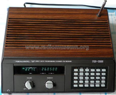 Realistic VHF/UHF Scanner PRO-2003 Receiver-C Radio Shack Ta