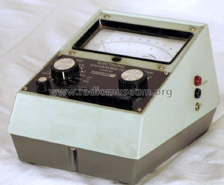 electronic galvanometer gvm30 equipment radiometer; copenhagelectronic galvanometer gvm30