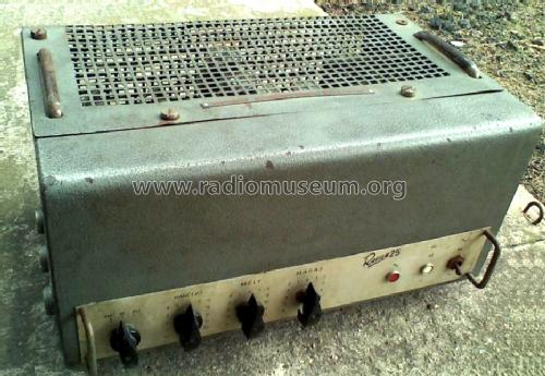 Power Amplifier Rafilm 25 RR6032; Budapesti (ID = 1403384) Ampl/Mixer