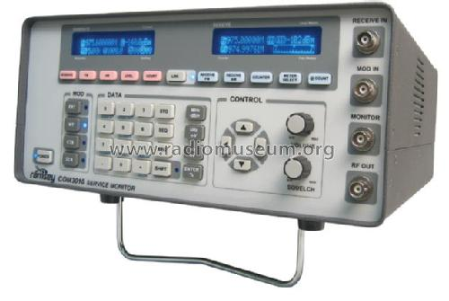 Communications Service Monitor Com3010 Equipment Ramsey Elec