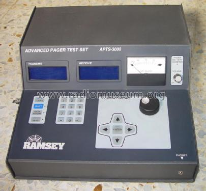 Advanced Pager Test Set APTS-3000 2.6 Equipment Ramsey Elect