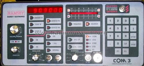 RF Service Monitor Com3 Equipment Ramsey Electronics