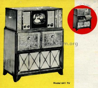641-TV; RCA RCA Victor Co. (ID = 439586) TV Radio