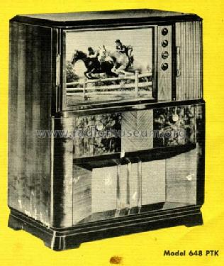 648PTK ; RCA RCA Victor Co. (ID = 438891) TV Radio