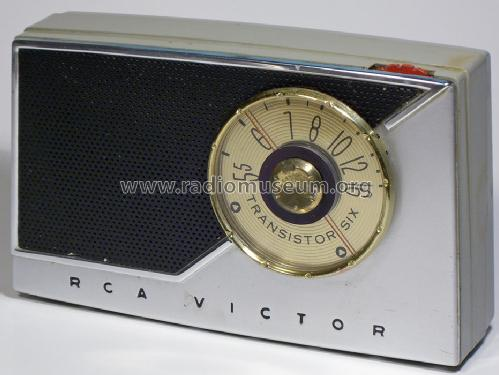 Transistor Six 8-BT-9J Ch= RC1164 Radio RCA RCA Victor Co.