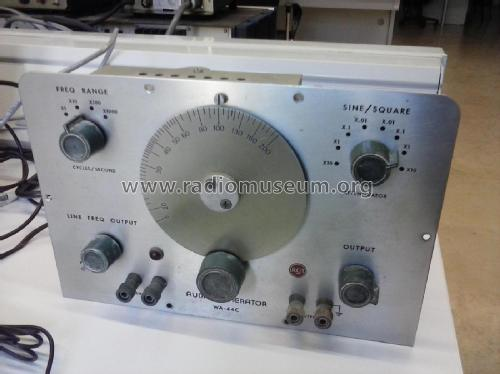Audio Generator WA-44-C; RCA RCA Victor Co. (ID = 2082313) Equipment