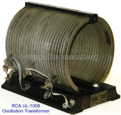 Oscillation Transformer UL-1008; RCA RCA Victor Co. (ID = 953859) Radio part