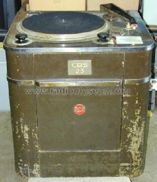 Transcription Turntable 70-C1 R-Player RCA RCA Victor Co