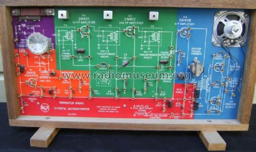 Transistor Radio Dynamic Demo  WE-93A Kit RCA RCA Victor Co