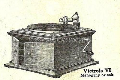 Victrola VI; RCA RCA Victor Co. (ID = 2134481) TalkingM