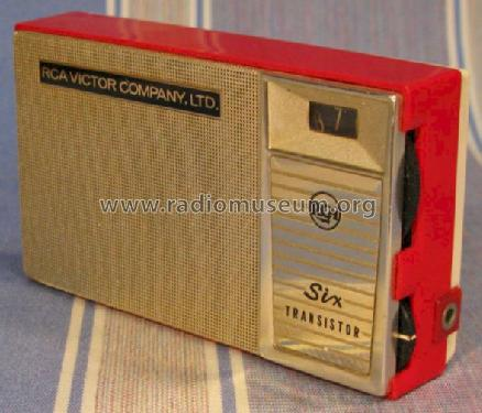 Six Transistor PA-5 Radio RCA Victor International, Montreal
