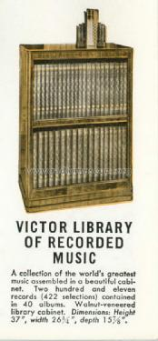 Victor Library of Recorded Music ; RCA Victor (ID = 1425963) Misc