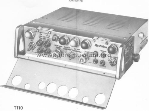 Terminal Teleprinter T.T.10.; Redifon Ltd.; London (ID = 1767633) Military