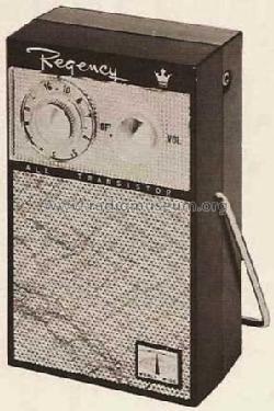 Tr 99 World Wide Radio Regency Brand Of I D E A Build 1959