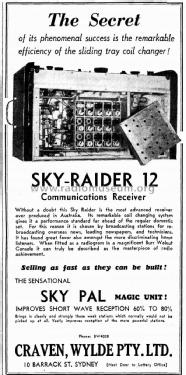 Sky-Raider 12 ; Reliance Radio. (ID = 2416717) Commercial Re