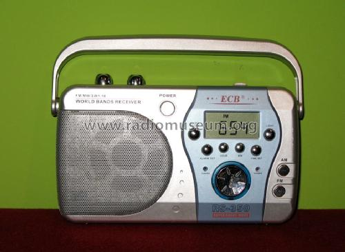 ECB World Band Receiver RS-350; Risheng Electronic (ID = 1064225) Radio