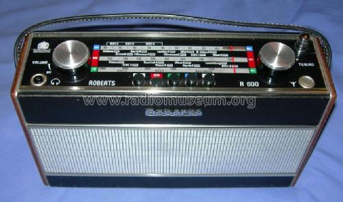 R600; Roberts Radio Co.Ltd (ID = 175281) Radio