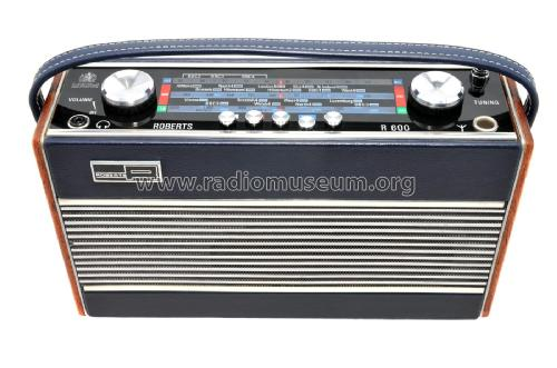 R600; Roberts Radio Co.Ltd (ID = 2105781) Radio