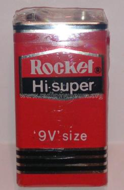 Hi-super - 9V size - Dry Battery ; Rocket Electric Co. (ID = 1733658) Power-S