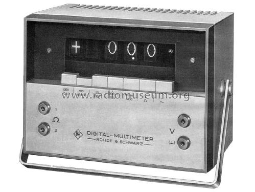 Digital-Multimeter UGWD ; Rohde & Schwarz, PTE (ID = 511235) Equipment