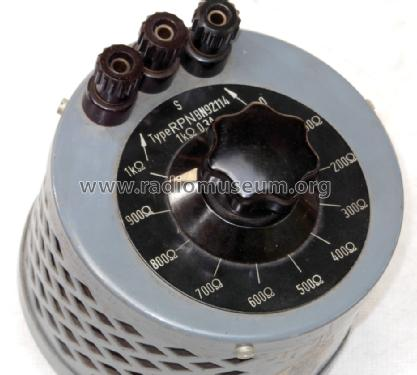 Drahtpotentiometer RPN - BN92114; Rohde & Schwarz, PTE (ID = 1511009) Equipment