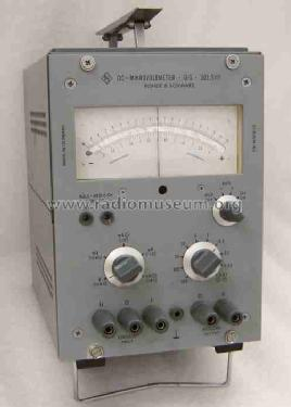 Mikrovoltmeter UIG 203.5111; Rohde & Schwarz, PTE (ID = 306735) Equipment