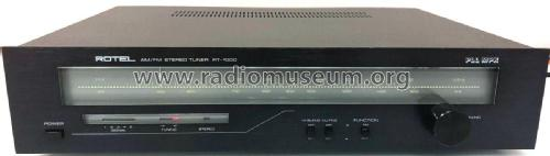 AM/FM Stereo Tuner RT-1000; Rotel, The, Co., Ltd (ID = 2350757) Radio
