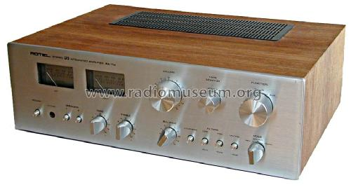 Stereo DC Integrated Amplifier RA-714; Rotel, The, Co., Ltd (ID = 1209456) Ampl/Mixer