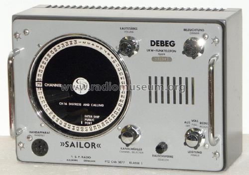 VHF Radiotelephone UKW-Funktelefon Commercial TRX S.P. Radio