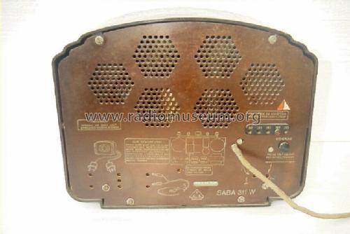 311W Radio SABA; Villingen, build 1933/1934, 23 pictures
